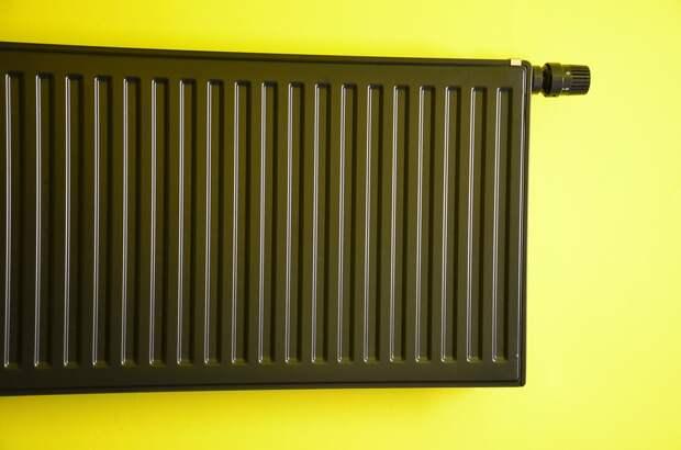 Радиатор, Отопление, Зеленая Стена, Неон, Черный