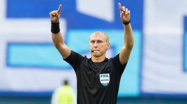 Арбитр Иванов назначен на матч Лиги наций Азербайджан — Черногория