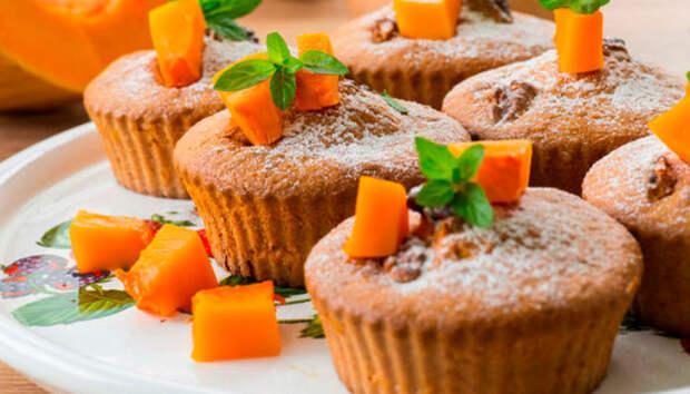 Кексы с тыквой и морковью: вкусно, просто и доступно