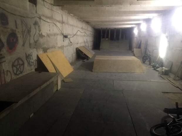 Крытый скейтпарк в Ижевске своими силами создали молодые спортсмены-экстремалы
