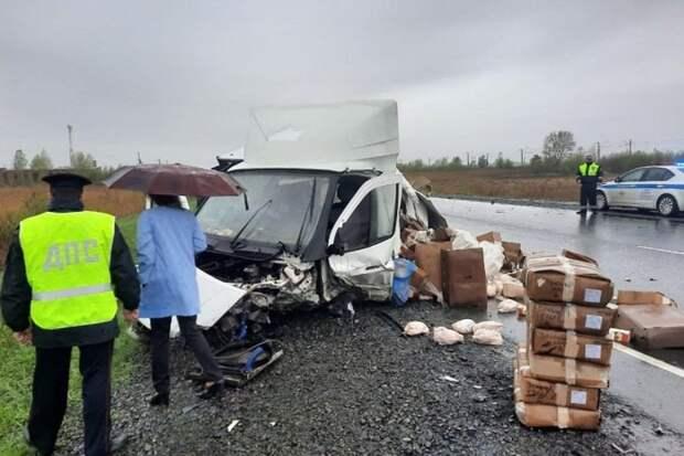 Пять человек погибли в ДТП под Ачинском