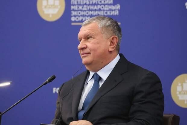 Сечин будет управлять «Роснефтью» еще пять лет