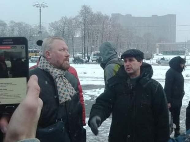 Юрий Горский и Марк Гальперин