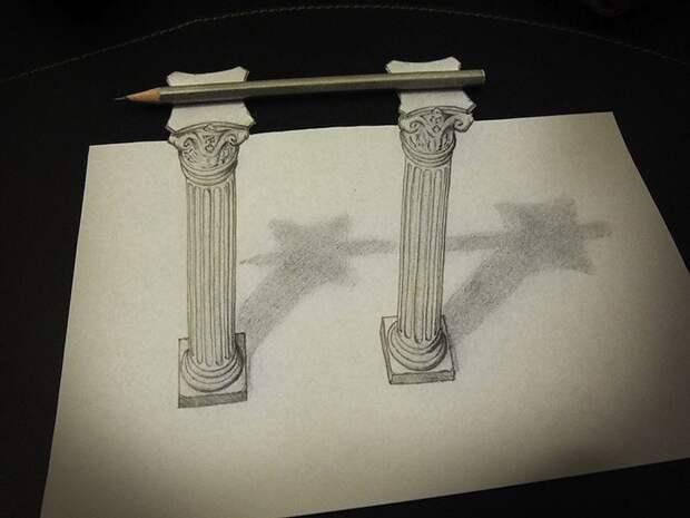 Anamorphdrawings07 Умопомрачительные 3D рисунки