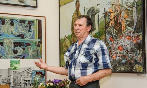 В галерее «Сантал» пройдет персональная выставка Валентина Папко