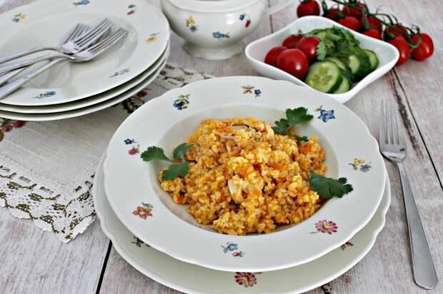 Булгур с курицей: вкусное блюдо к ужину