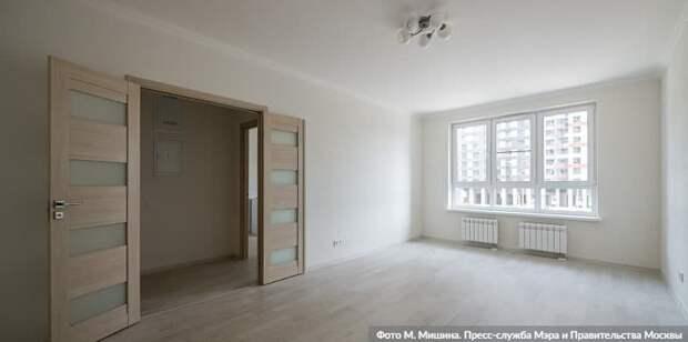 Собянин: 1 млн кв метров жилья по программе реновации построено в Москве/Фото: М. Мишин mos.ru