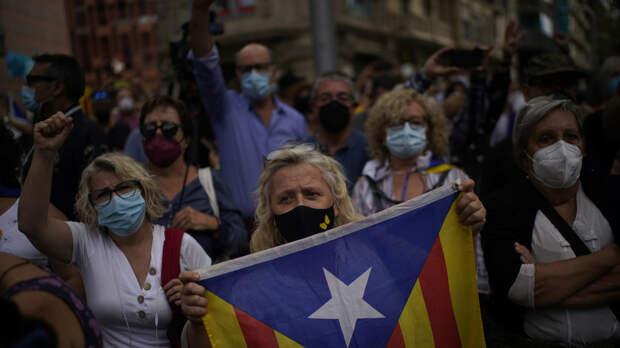 В Каталонии начались акции в поддержку Пучдемона