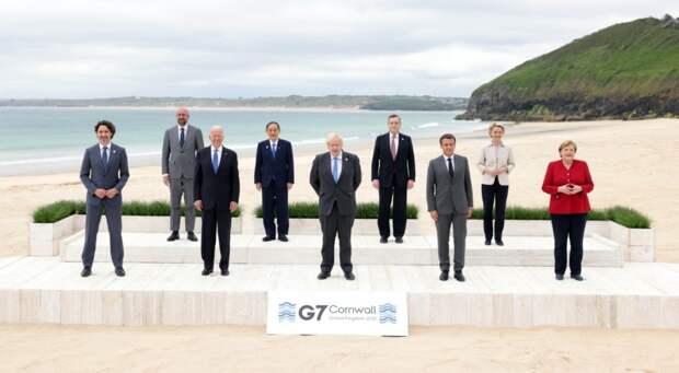 Совместное заявление лидеров стран G7 появилось в Сети
