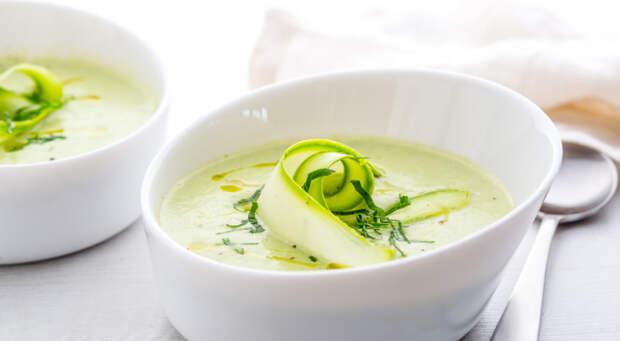 Крем-суп из кабачков. \ Фото: gastronom.ru.