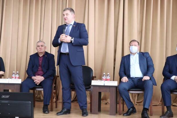 Молодежь Динского района - Госдума 2021: на Кубани прошло расширенное заседание политического клуба «Динчане»