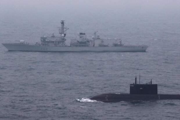 Великобритания в панике от прессинга российской авиации, кораблей и подлодок