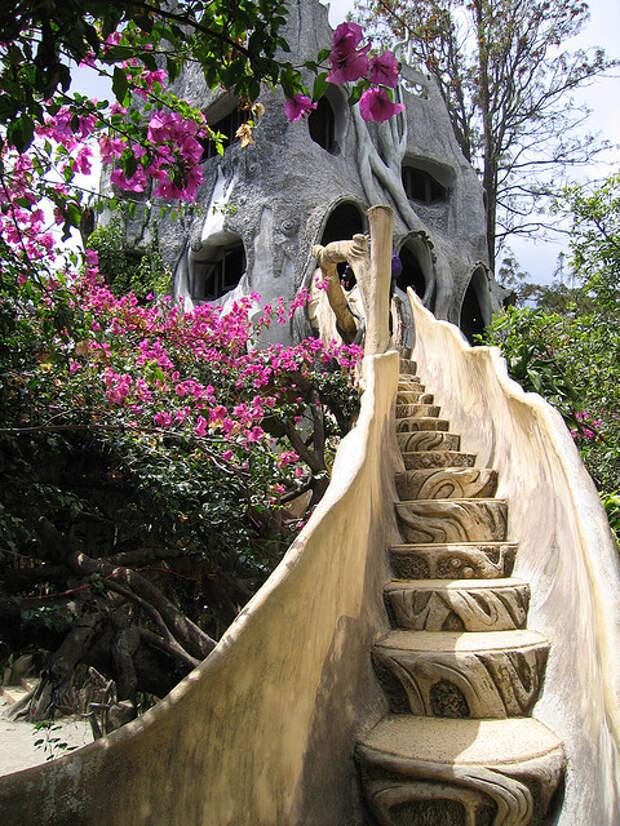 Сказочный дом Hang Nga во Вьетнаме. Фото