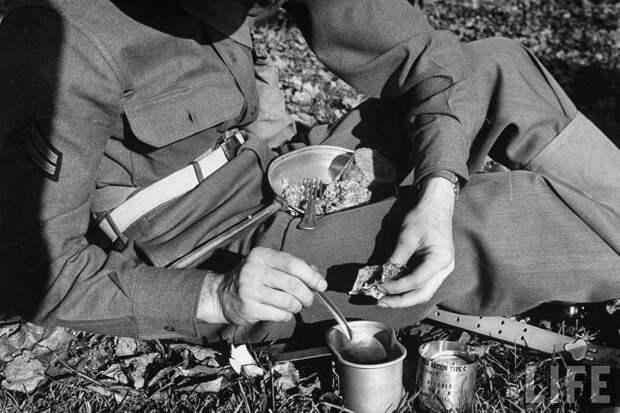 заваривание кофе во время войны
