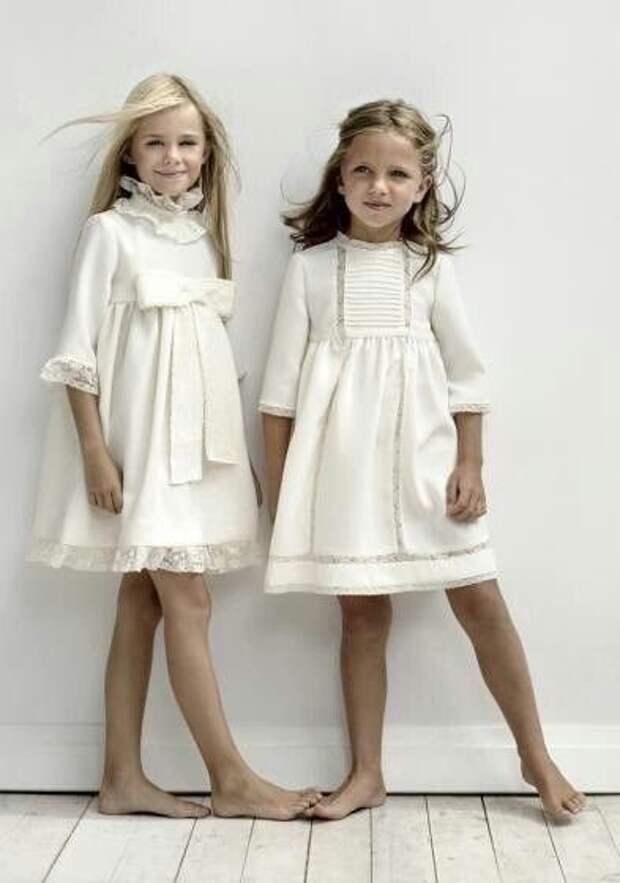 Выкройка детского нарядного платья размеры