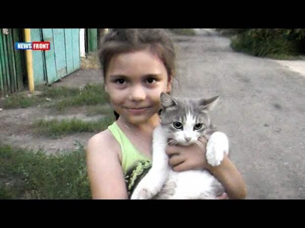 Как живут дети в прифронтовом районе Донецка