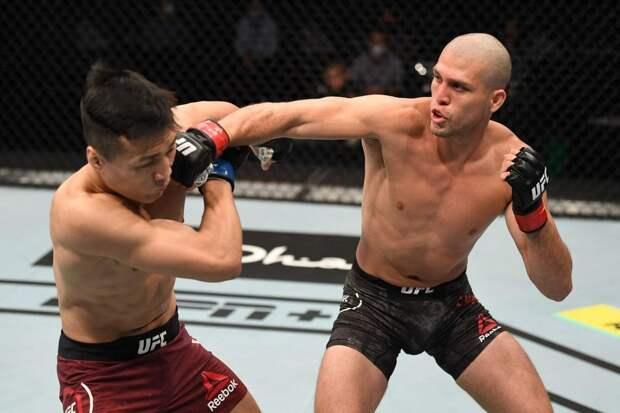 Супербоец UFC Ортега перебил Корейского Зомби и обогнал Магомедшарипова