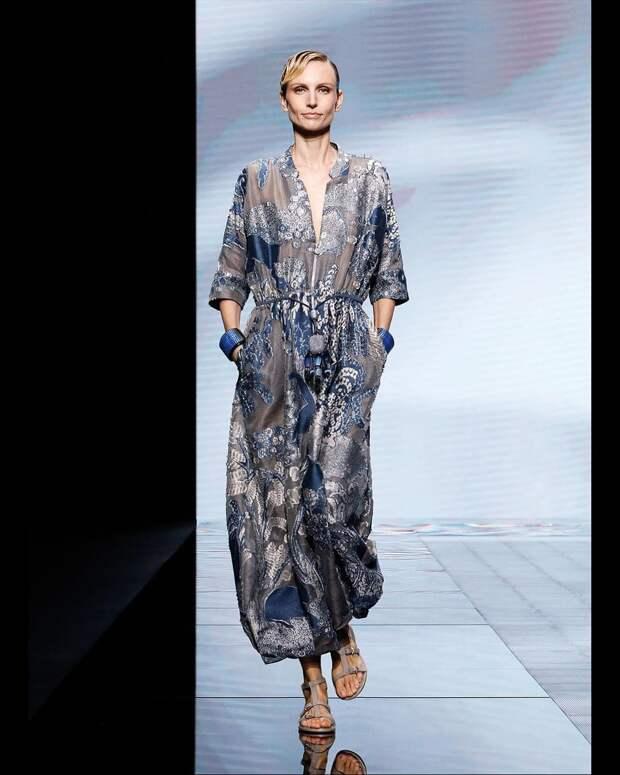 Сдержанность и лаконичность: новая коллекция Giorgio Armani весна-лето 2021