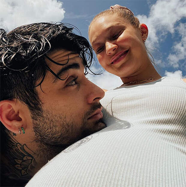 В компании Зейна Малика: Джиджи Хадид показала фотографии, сделанные во время беременности