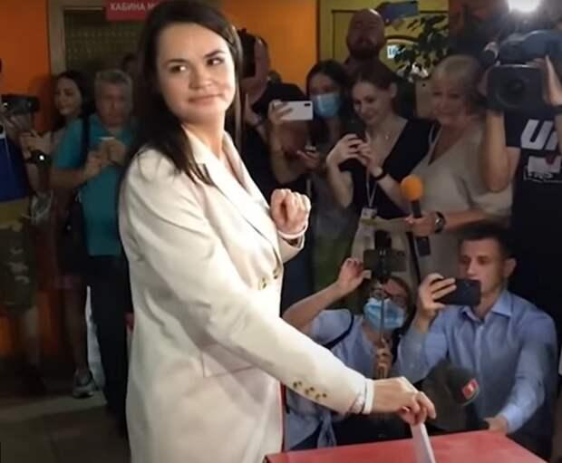 Тихановская потребовала пересмотра результатов выборов