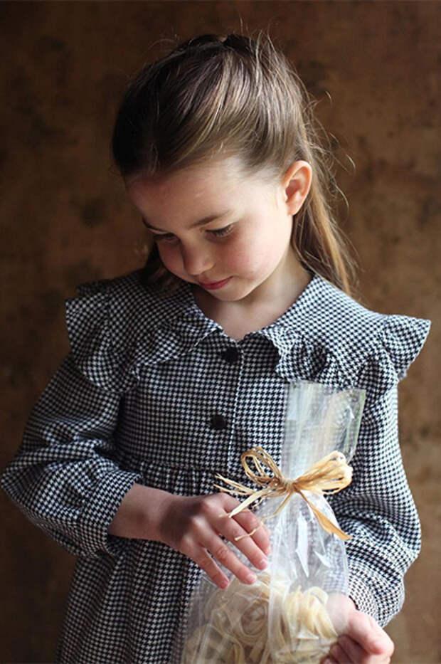 Портрет принцессы Шарлотты в честь ее пятого дня рождения