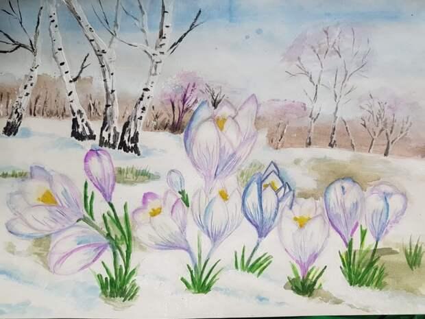 На конкурс рисунков, проведённый парком «Тушинский», прислали более 800 работ
