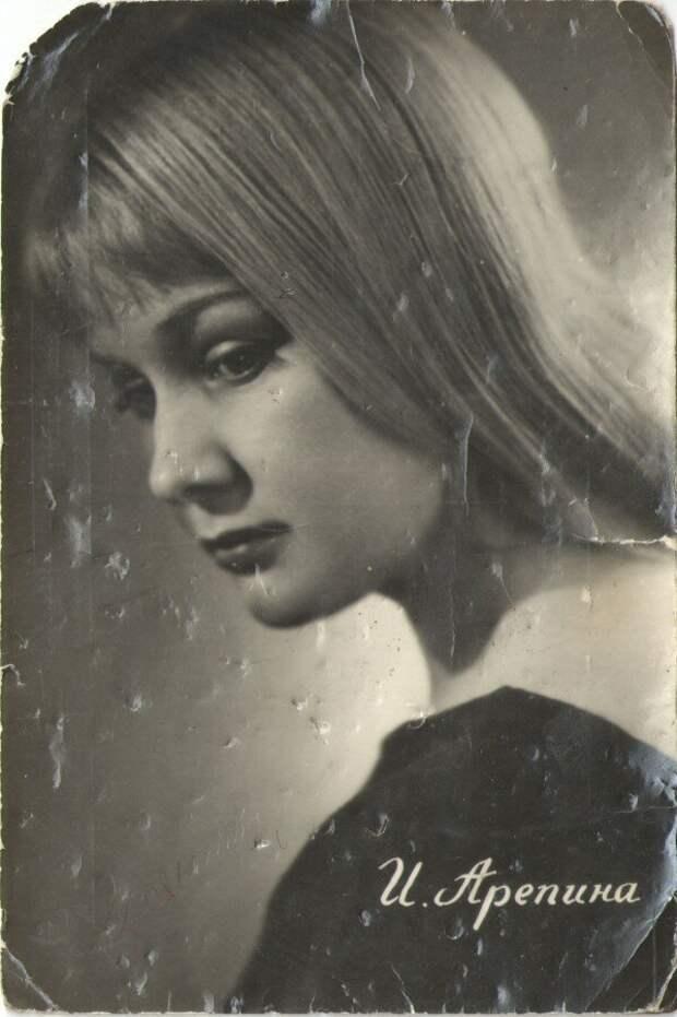 Прелестная барышня Ия Арепина, сломанная карьера и не сложившаяся личная жизнь актрисы