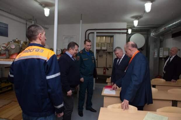 Представители учебно-методического центра приняли участие в сборе на базе «МОСГАЗа»