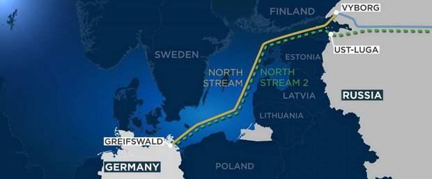 Байден постарается сорвать завершение «Северного потока-2»