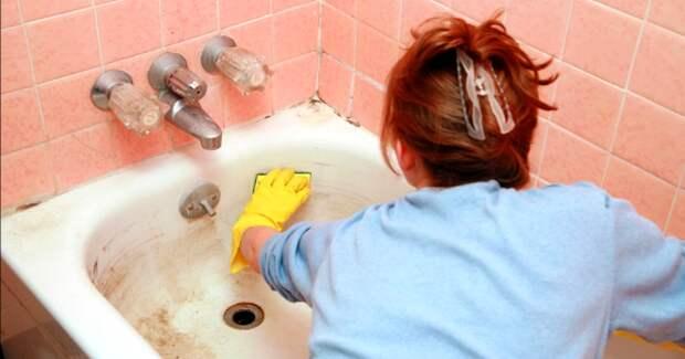 Как очистить ванну добела домашними средствами