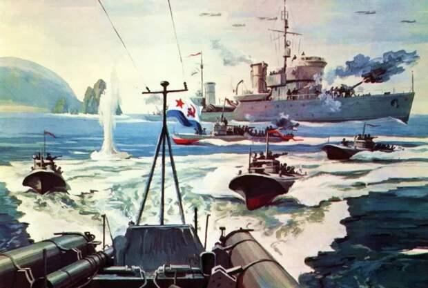 От ладьи до ракетных крейсеров: как развивался наш Тихоокеанский флот
