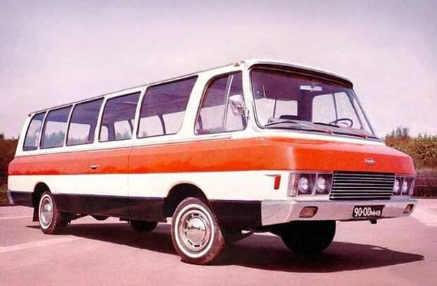 Микроавтобусы «Юность» автобусы, история, это интересно
