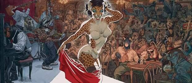 Иллюстратор Хуанхо Гуарнидо, сумевший превратить комиксы вискусство