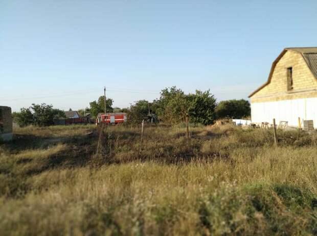 Только за прошедшие пожарные потушили семь возгораний сухой растительности в Крыму