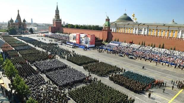 Парад Победы к 75-летию Победы.