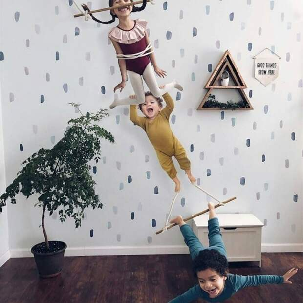 Семейный фотошоп (подборка)