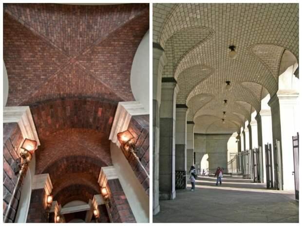 Современные мастера создают не менее шедевральные сооружения используя лишь кирпич и раствор.   Фото: fishki.net.