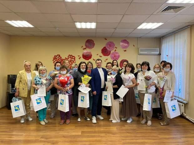 В Отрадном поздравили соцработников с профессиональным праздником