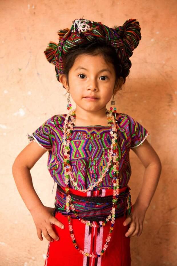 Девочка из общины Иксил (Майя). Автор: Александр Химушин.