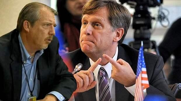 Макфол и журналист Мэттью Ли поспорили о санкциях США против России