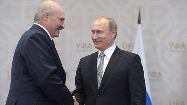 Путин и Лукашенко обсудили развитие двусторонних отношений на встрече в Сочи
