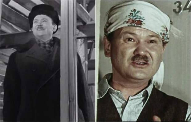 В кино актер исполнял роли второго плана, дебютировал в фильме «Девчата».