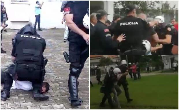 «Serbian lives matter»: Спецназ Черногории штурмовал здание мэрии Будвы