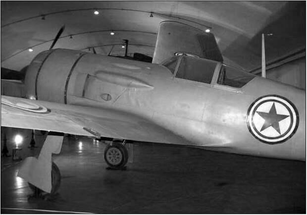 Ла-11 в экспозиции китайского авиационного музея. Фото А.Юргенсона.
