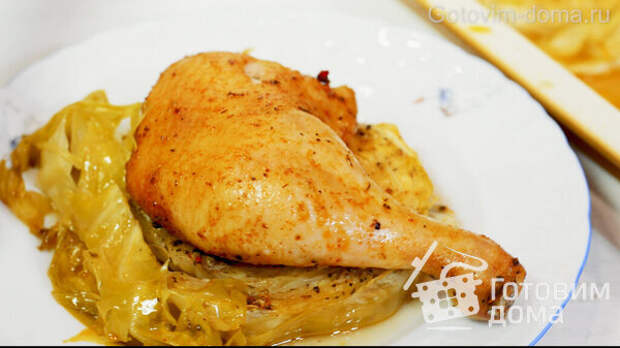ШАЙБЫ из Капусты с Курицей в Духовке фото к рецепту 7