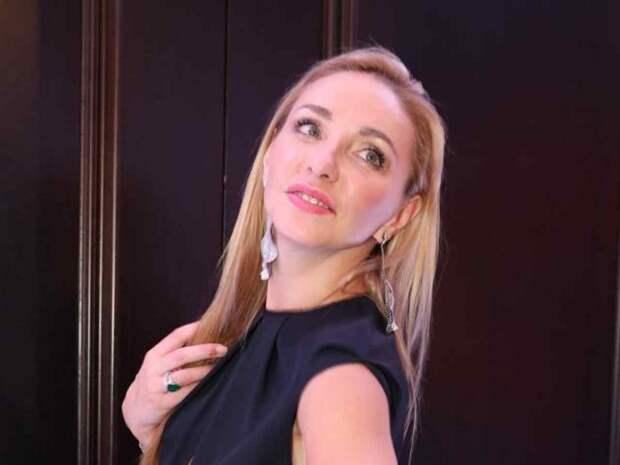 Татьяна Навка не сдержала эмоций во время съемок программы «Ледниковый период»