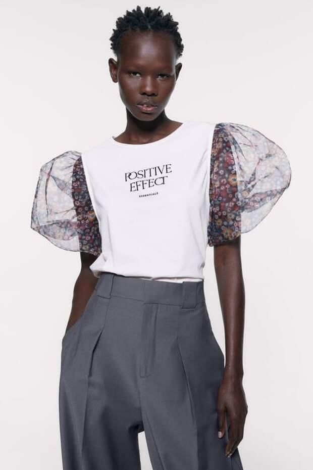 перешить одежду футболку модно
