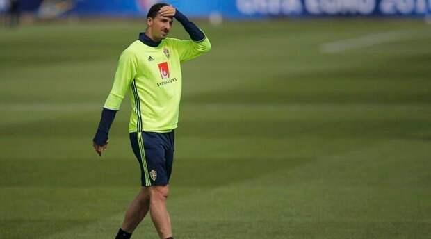 Ибрагимович пропустит чемпионат Европы-2020 из-за травмы