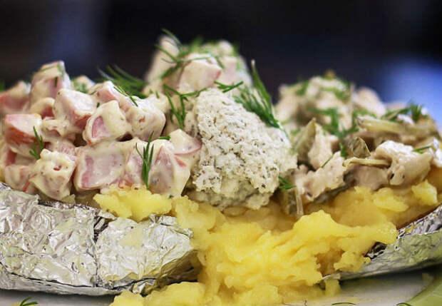 Крошка-картошка из ветчины и сыра: готовим блюдо ценой в 40 рублей