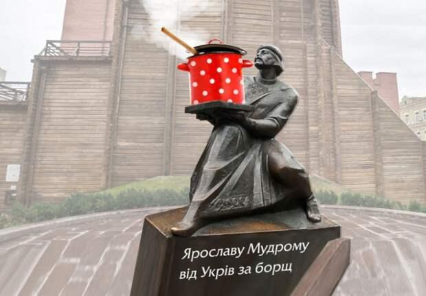 Марш защитников борща, или Наш ответ Макаревичу